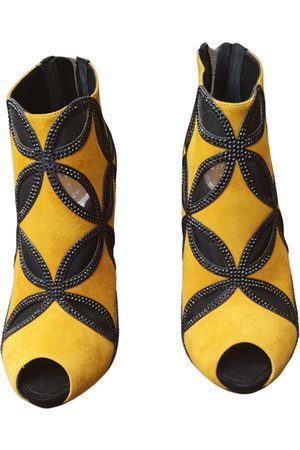 RENÉ CAOVILLA Women Ankle Boots - \N Suede Ankle boots for Women