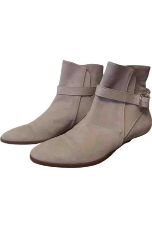 Loro Piana \N Suede Ankle boots for Women