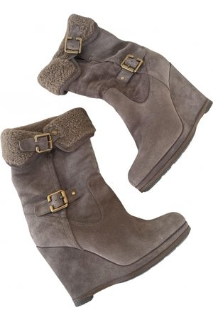 Dior \N Suede Ankle boots for Women