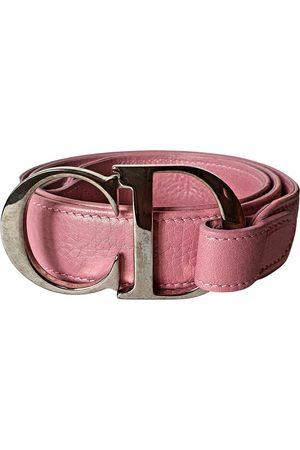 Dior Women Belts - VINTAGE \N Leather Belt for Women