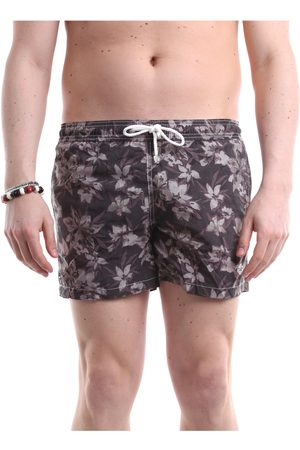 LUIGI BORRELLI NAPOLI Sea shorts Men Dark fantasy