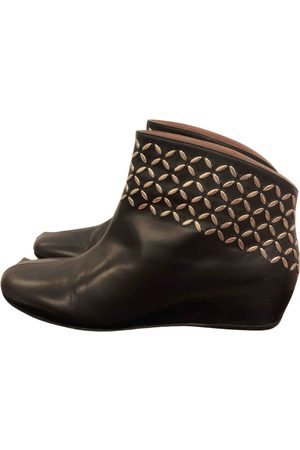 Alaïa \N Leather Ankle boots for Women