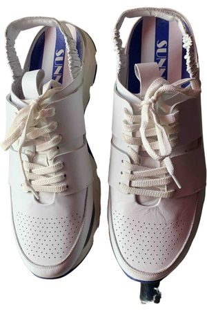 SUNNEI \N Leather Trainers for Men
