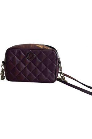 Moncler Women Purses - \N Leather Handbag for Women