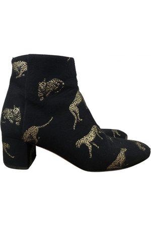 Aquazzura \N Cloth Ankle boots for Women