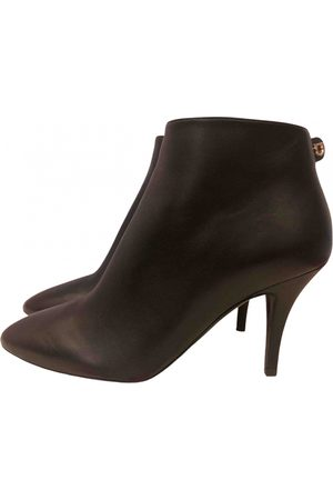 Salvatore Ferragamo Women Ankle Boots - \N Leather Ankle boots for Women