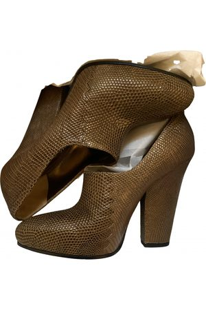 Bottega Veneta \N Leather Ankle boots for Women