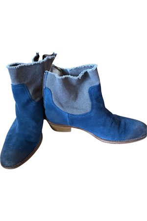 Zadig & Voltaire Teddy Suede Ankle boots for Women
