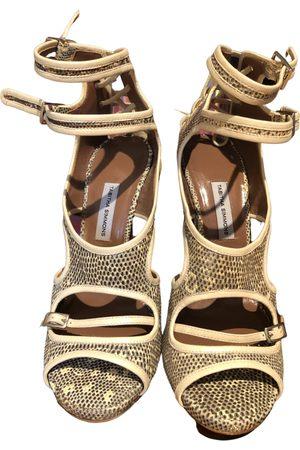 Tabitha Simmons Women High Heels - \N Leather Heels for Women