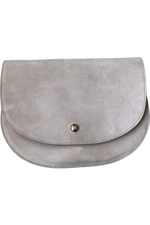 Sézane \N Leather Clutch Bag for Women