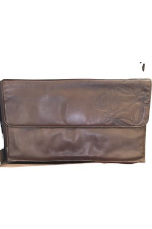 Loewe Women Clutches - VINTAGE \N Leather Clutch Bag for Women