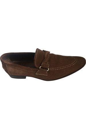 Miu Miu Men Flat Shoes - \N Suede Flats for Men