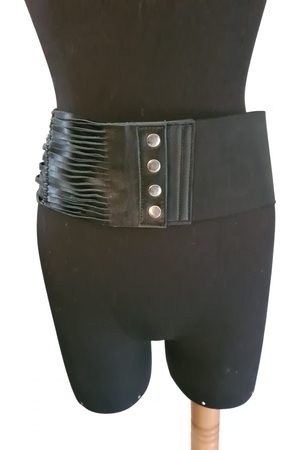 Maje Women Belts - Spring Summer 2020 Leather Belt for Women