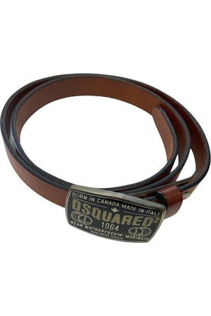 Dsquared2 \N Leather Belt for Women