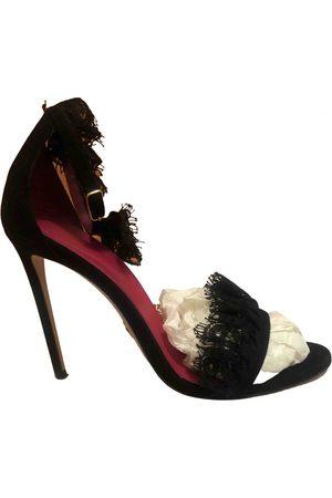OSCAR TIYE Women Sandals - \N Suede Sandals for Women