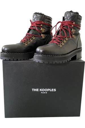 The Kooples Fall Winter 2019 Leather Ankle boots for Women