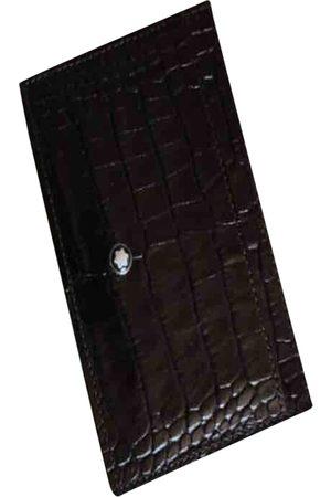 Mont Blanc Men Wallets - \N Leather Small Bag, Wallet & cases for Men