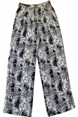 Emanuel Ungaro \N Wool Trousers for Women