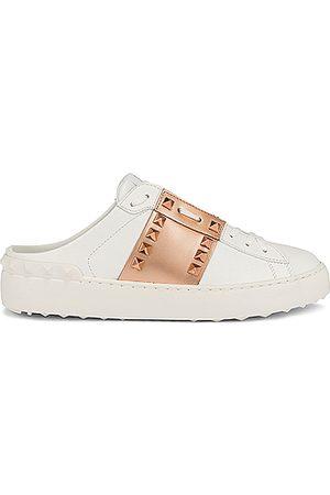 VALENTINO GARAVANI Women Sneakers - Open Untitled Sneakers in White