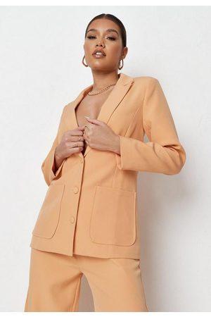 Missguided Women Loungewear - Petite Co Ord Longline Blazer