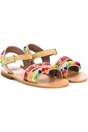 PèPè Girls Sandals - Embellished strap sandals