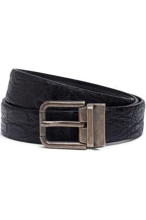 Dolce & Gabbana Men Belts - Textured leather belt
