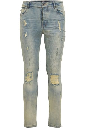 The Other Men Skinny - 116 Trashed Distressed Skinny Jeans