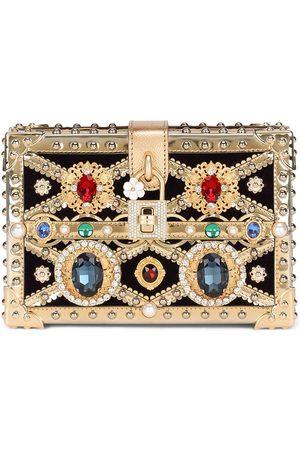 Dolce & Gabbana Dolce Box jewelled clutch