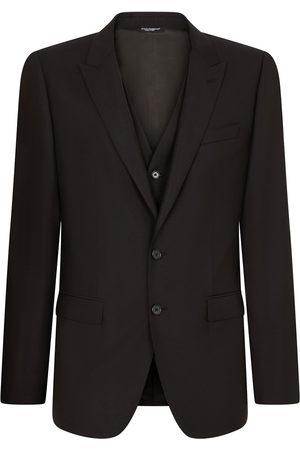 Dolce & Gabbana Men Suits - Three-piece slim-fit suit