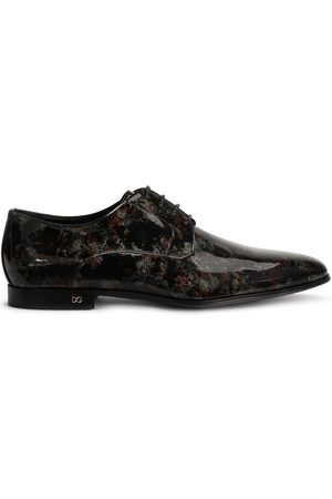 Dolce & Gabbana Abstract-print Derby shoes