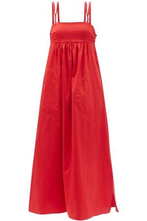 BELIZE Women Midi Dresses - Louisa Braided-strap Cotton Dress - Womens