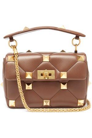VALENTINO GARAVANI Women Shoulder Bags - Roman Stud Medium Quilted-leather Shoulder Bag - Womens