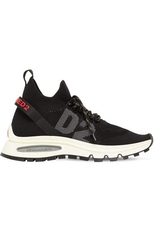 Dsquared2 Run Ds2 Logo Elastic Knitsock Sneakers