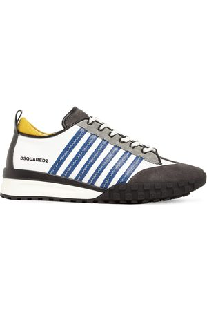 Dsquared2 Men Sneakers - Legend 551 Mix Leather Low-top Sneakers