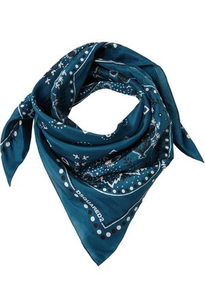 Dsquared2 Men Scarves - Printed Silk Bandana