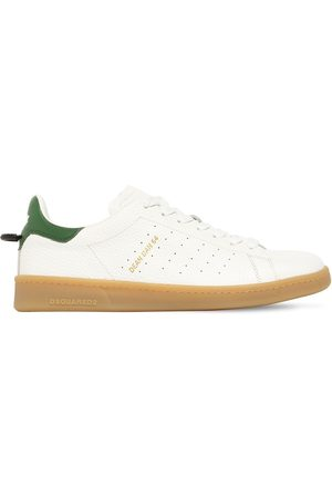 Dsquared2 Men Sneakers - Boxer Leather Low-top Sneakers