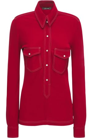 Isabel Marant Women Shirts - Letty Jersey Shirt