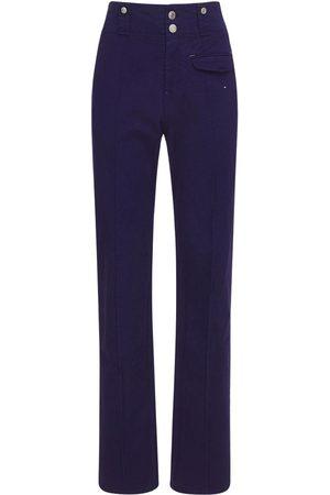 Isabel Marant Women Straight Leg Pants - Dilirok Straight Cotton Pants