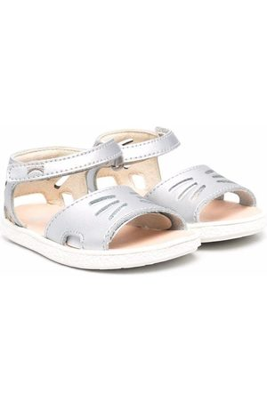 Camper Miko metallic sandals - Grey
