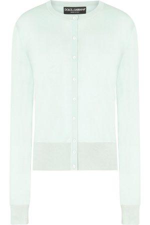 Dolce & Gabbana Women Cardigans - Button-up silk cardigan