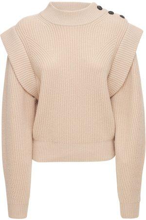 Isabel Marant Women Sweaters - Peggy Wool Blend Knit Sweater