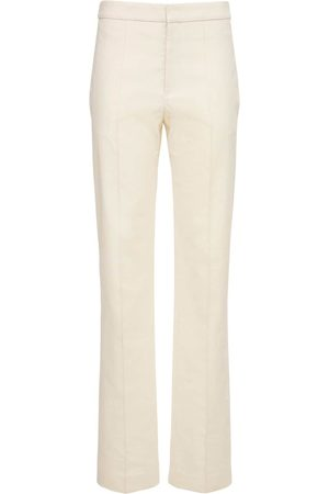 Isabel Marant Women Straight Leg Pants - Lelirok Straight Cotton Blend Pants