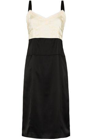 Commission Women Midi Dresses - Panelled midi dress