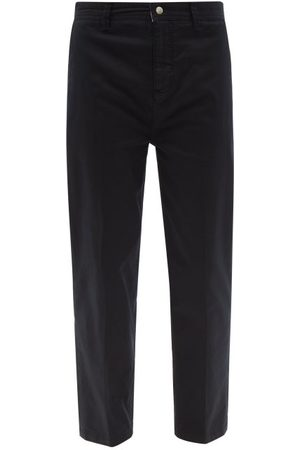 Frame Cotton-blend Twill Slim-leg Chino Trousers - Mens