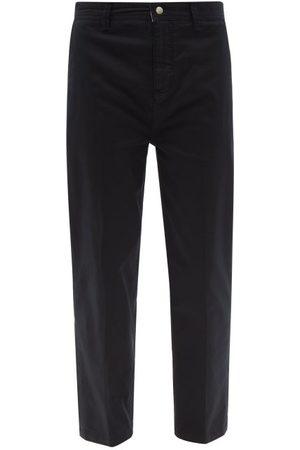 Men Chinos - Frame - Cotton-blend Twill Slim-leg Chino Trousers - Mens