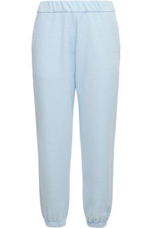 AG Women Sweatpants - Straight Cotton Sweatpants