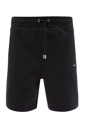 Frame Drawstring-waist Cotton-blend Jersey Shorts - Mens