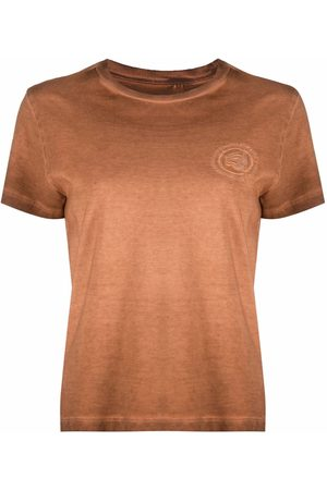 Opening Ceremony Women T-shirts - Logo-embroidered T-shirt