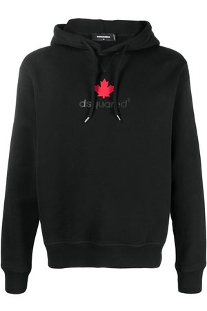 Dsquared2 Maple leaf-print hoodie