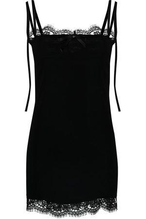 Dsquared2 Women Casual Dresses - Lace-trim slip dress